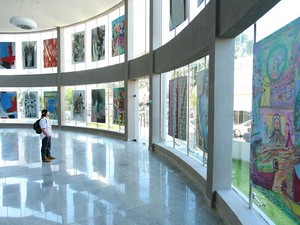 Mostra coletiva pode ser visitada de 16 de junho a 17 de agosto (Foto: Jonathan Lins/G1)