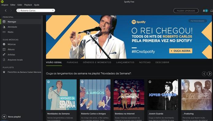 Roberto Carlon disponibiliza diversos álbuns no Spotify (Foto: Reprodução/Barbara Mannara)