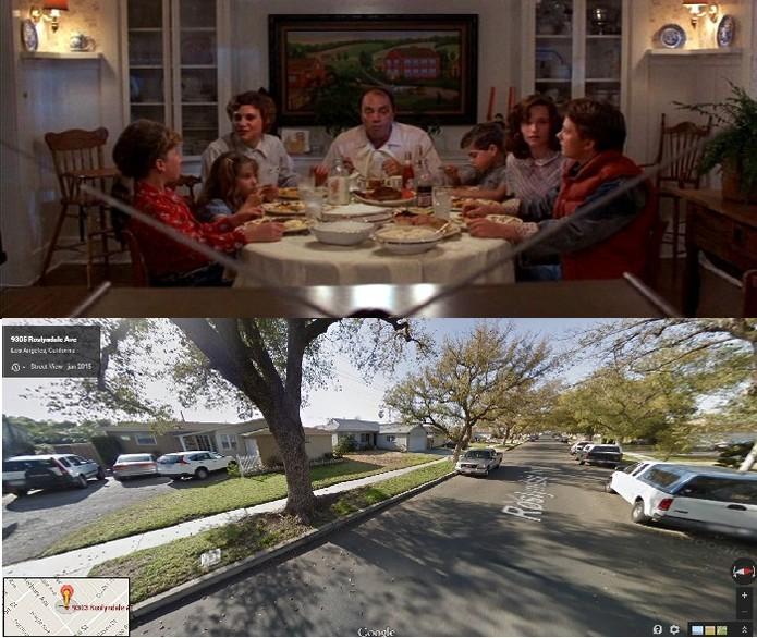 A casa da família McFly fica em Burbank, na Califórnia (Foto: Reprodução/Juliana Pixinine)