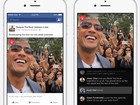 App do Facebook para famosos ganha função de vídeos ao vivo