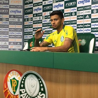 Cleiton Xavier Palmeiras (Foto: Rodrigo Faber)
