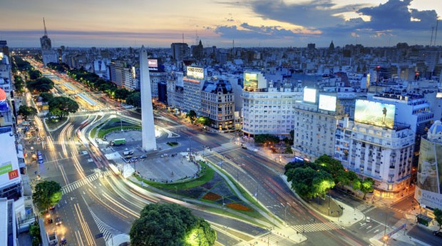 Buenos Aires, na Argentina: país terá greve geral em abril (Foto: Emirates Airlines)