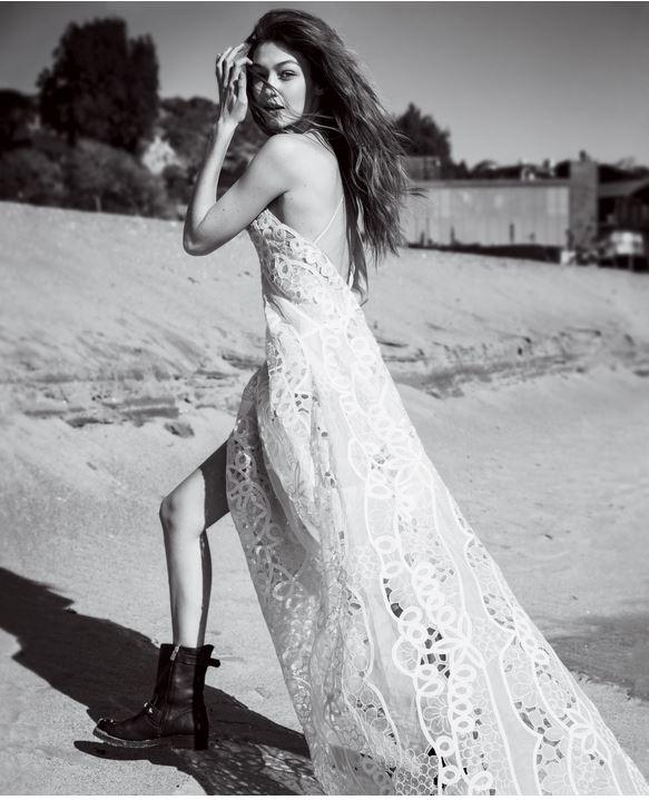 Gigi Hadid (Foto: Reprodução/Vogue US/Inez and Vinoodh)