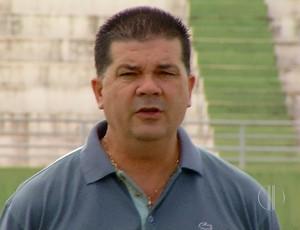 José Pachani - técnico do Palmeira de Goianinha (Foto: Reprodução/Inter TV Cabugi)