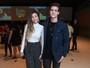 Bruna Santana vai com o namorado a show de Sandy em São Paulo