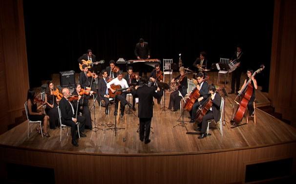 Orquestra do estado homenageia o rei do baião em grande concerto no Teatro  (Foto: TVCA)