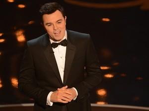 Seth MacFarlane apresentou a cerimônia do Oscar 2013 neste domingo (24) (Foto: AFP)