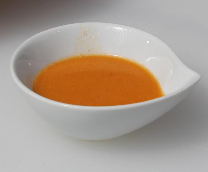 Sopa de camarão (Foto: Carolina Morgado/Gshow)