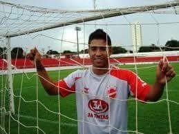 Marco Aurélio atacante do Rondoniense SC (Foto: Rondoniense SC/Divulgação)
