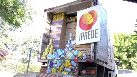 Campanha 'Fortal Solidário' arrecada 12 toneladas de donativo