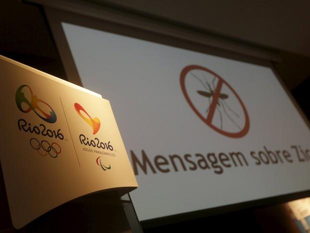 COI emitiu nota sobre medidas para garantir segurança contra o zika nos Jogos Olímpicos do Rio (Foto: Reuters/Ricardo Moraes)