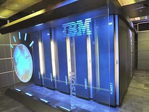 Watson, o supercomputador da IBM  (Foto: AFP/IBM)