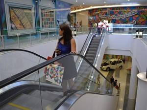 Primeiro shopping center de Roraima é inaugurado (Foto  Anne de Freitas  G1  RR 6dc08df11f9b3