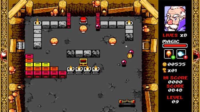 Wizorb mistura Breakout com RPG (Foto: Divulgação/Tribute Games)
