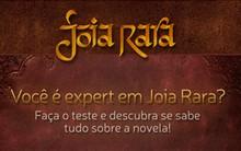 Jogue o nosso quiz e mostre que é fã da trama (Joia Rara/TV Globo)