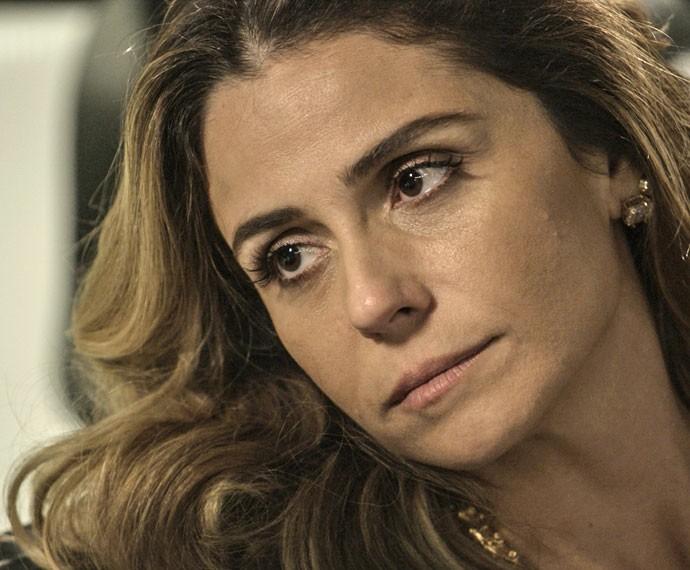 E agora, Atena? Qual será a sua resposta? (Foto: TV Globo)