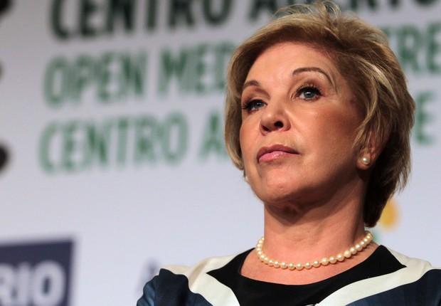 A senadora Marta Suplicy (Foto: Reprodução/Facebook)