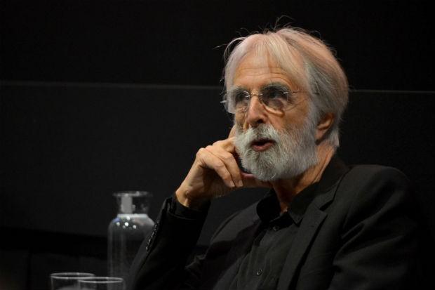O diretor Michael Haneke durante uma palestra no Festival Internacional de Cinema de Toronto, em 2012 (Foto: Alberto E. Rodriguez/Getty Images)