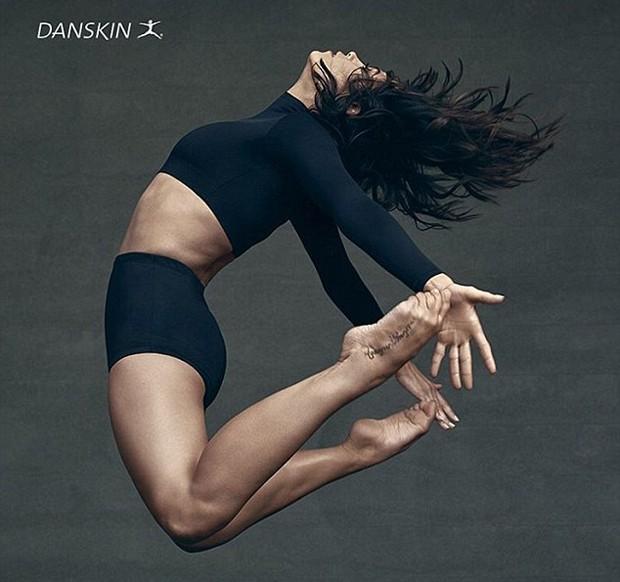 Jenna Dewan Tatum (Foto: Reprodução/Danskin)