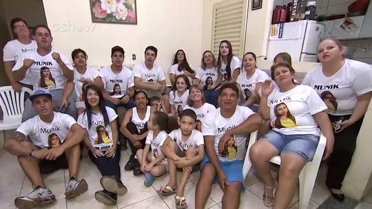 Família de Munik, do BBB16, mostra quarto de sister e mãe avisa: 'Não a quero com Renan'
