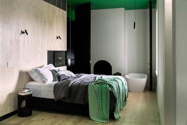 Décor do dia quarto verde e cinza Casa Vogue Décor do dia ~ Quarto Verde E Cinza