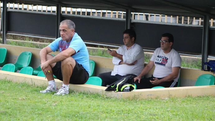 Celso Teixeira, técnico do Flamengo-PI (Foto: Joana D'arc Cardoso)