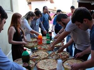 Rodada de pizza faz parte do cardápio do evento (Foto: Divulgação / San Pedro Valley)