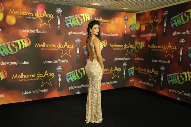 Paula Fernandes no Melhores do ano (Foto: Claudio Andrade/ Photo Rio News)