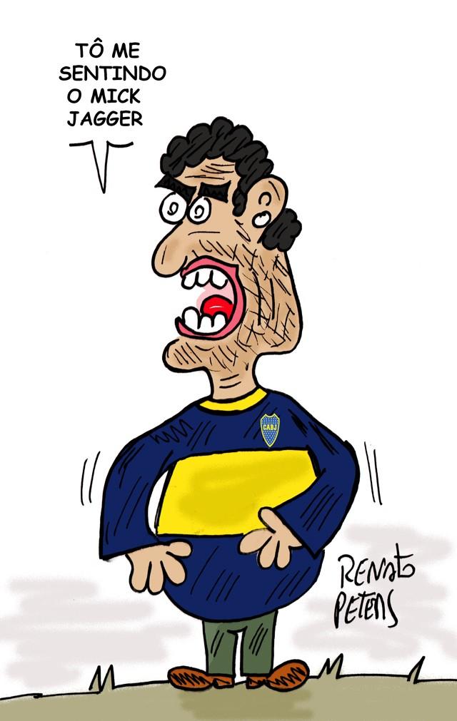 BLOG: Maradona tava lá...