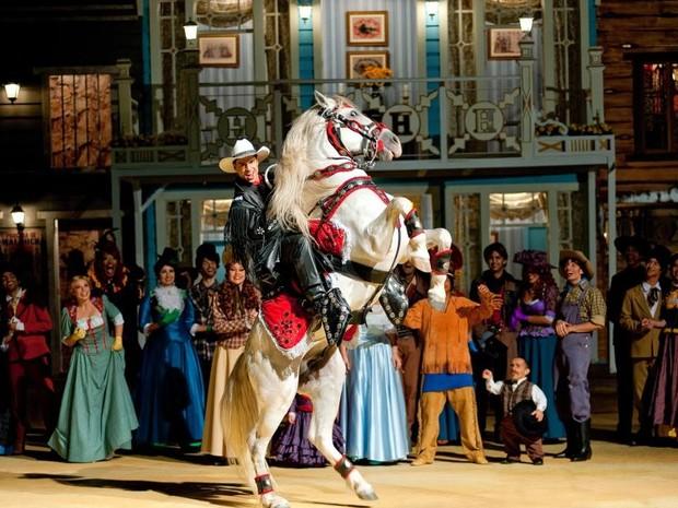 Sonho do Cowboy é um dos musicais (Foto: Beto Carrero World/Divulgação)