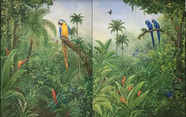 A flora e a fauna das florestas brasileiras são as maiores fontes de inspiração de Lelli, hoje com 58 anos  (Foto: Divulgação)