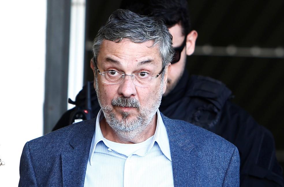 Ex-ministro Antonio Palocci foi preso em setembro de 2016 pela Operação Lava Jato (Foto: Rodolfo Buhrer/Reuters)