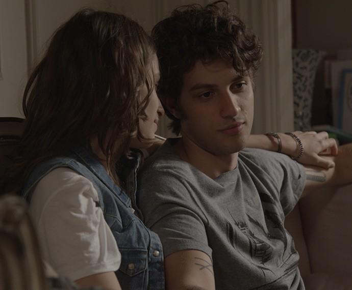Laís se despede de Rafa e promete que os dois terão uma família um dia (Foto: TV Globo)