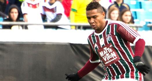 o vento levou... (Bruno Haddad / Fluminense)