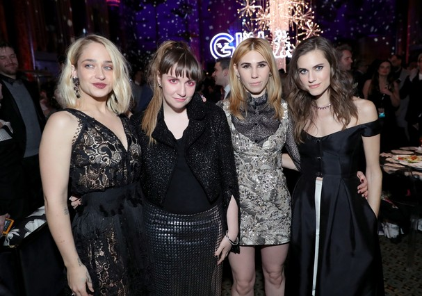 "Elenco da série ""Girls"" (Foto: Getty Images)"