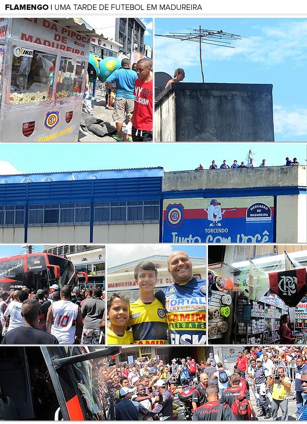 Galeria futebol Madureira Flamengo (Foto: Editoria de Arte / Globoesporte.com)