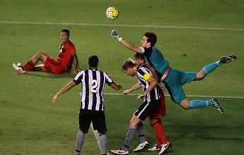 Bota e Sport perdem muitos gols, só empatam e estão na zona de degola