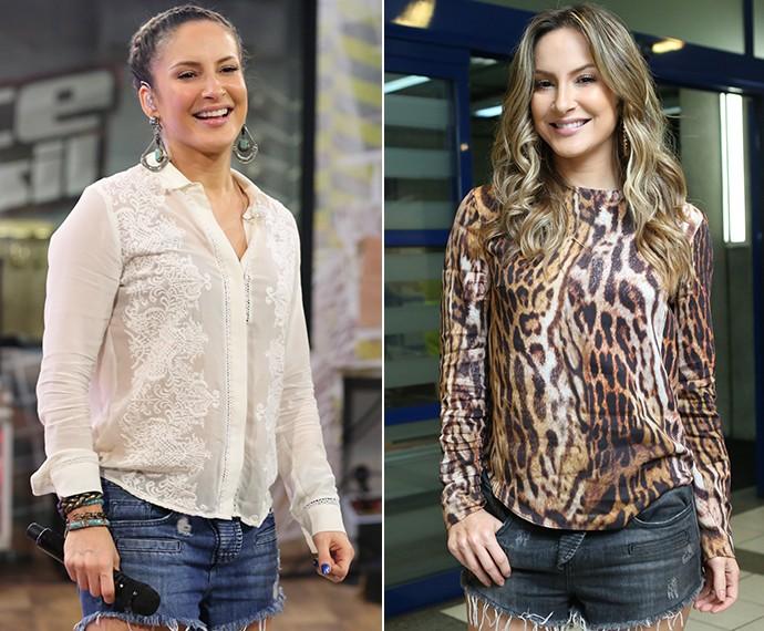 Jeans não pode faltar no closet de Claudia Leitte! (Foto: Gshow)