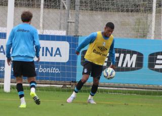Júnior Grêmio (Foto: Eduardo Moura/GloboEsporte.com)