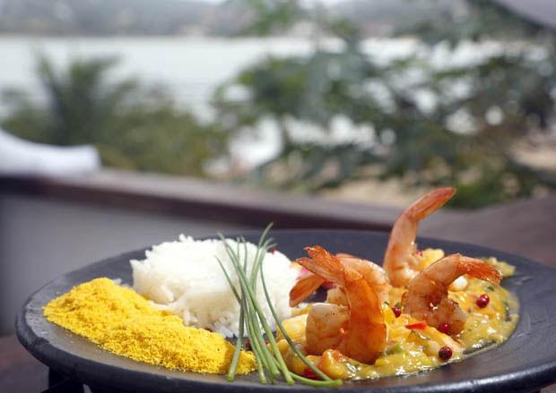 Bobó de camarão e batata-baroa