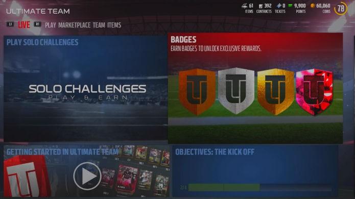 Madden 17: visite os desafios solo do Ultimate Team com frequência (Foto: Reprodução / Thomas Schulze)