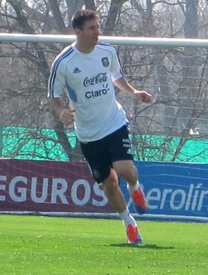 Messi treino Argentina (Foto: Felippe Costa)