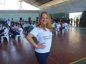 Lidinalva Alves da Silva também disputa uma vaga (Foto: Ellyo Teixeira/ G1)