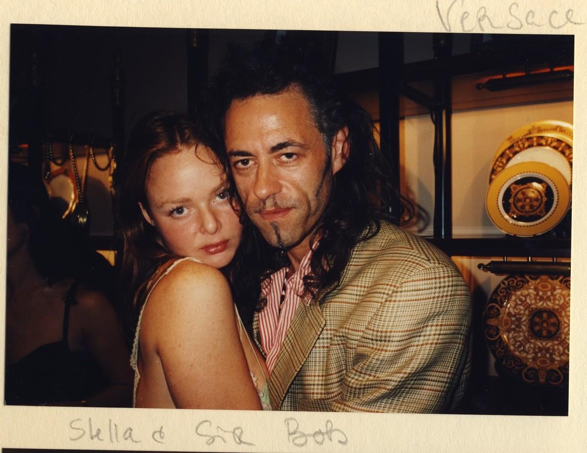 Bob Geldorf e Stella McCartney. (Foto: Divulgação)