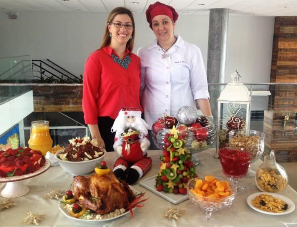 É possível preparar uma ceia de Natal leve e nutritiva; saiba como (Foto: Sonia Campos/RBS TV)