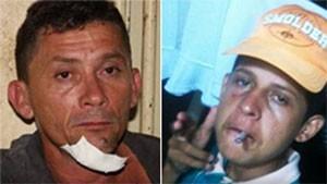 Rudson Carlos Araújo, de 40 anos, e Rudson Carlos Araújo Filho, de 18 anos; pai e filho mortos na chacina de Tibau (Foto: Divulgação/Polícia Civil)