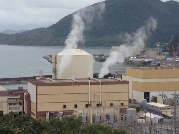 Usina Angra 1 entrou em manutenção nesta sexta-feira (Foto: Marcos Landim/TV Rio Sul)