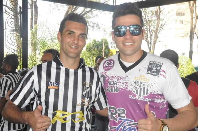 André Moreto e Filipe, goleiros do Operário-MS para a segundona estadual (Foto: Hélder Rafael)