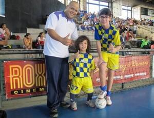 Gabriel, jogador do Colégio Omega Santos (Foto: Antonio Marcos)