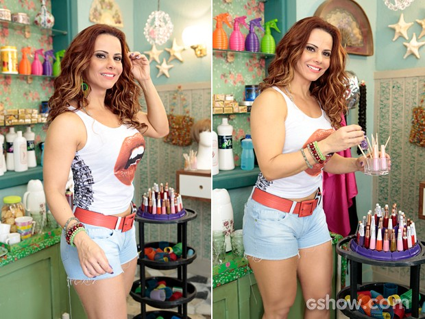 Viviane Araújo será a manicure Naná  (Foto: Felipe Monteiro/TV Globo )